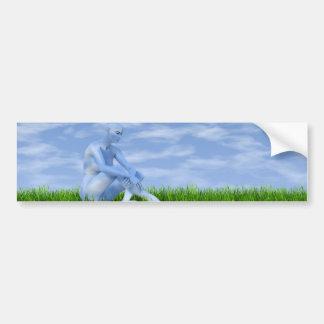 I dreamed I became the sky Bumper Sticker