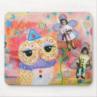 I Dreamed Of Pierrot The Clown Mouse Pad