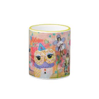 I Dreamed Of Pierrot The Clown Ringer Mug