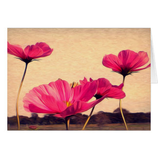 I dreamt last night of flowers card