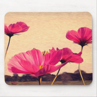 I dreamt last night of flowers mouse pad