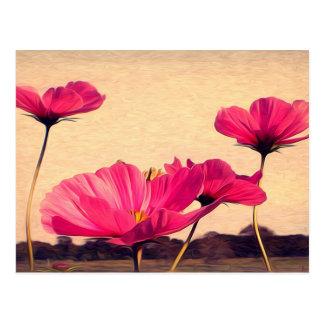 I dreamt last night of flowers postcard