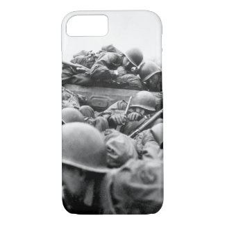 """I drew an assault boat to cross in_War Image iPhone 7 Case"