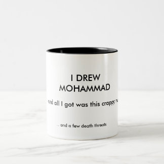 I DREW MOHAMMAD Two-Tone COFFEE MUG