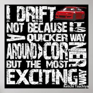 I Drift Poster