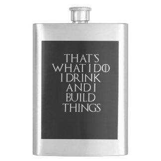 I drink beer and i know things about Build, #Build Flask
