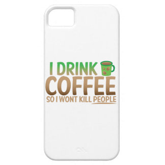 I drink COFFEE so I wont kill people iPhone SE/5/5s Case