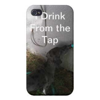 I Drink From the Tap iPhone 4 Cover