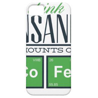 I drink insane amounts of code, geek design iPhone SE/5/5s case