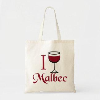 I Drink Malbec Wine Canvas Bag