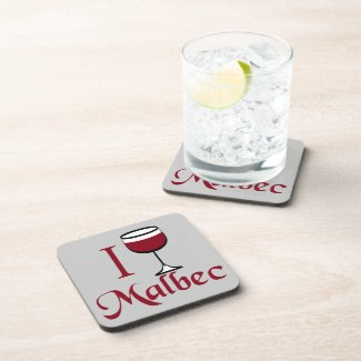 Malbec Wine Coasters