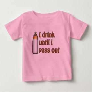 I Drink Milk Baby T-Shirt