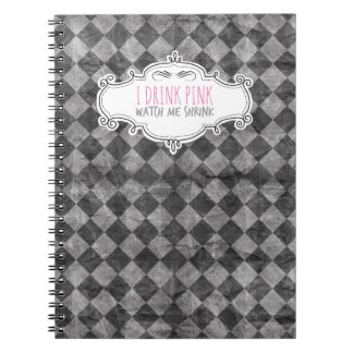 """""""I Drink Pink"""" Weight Loss Journal"""
