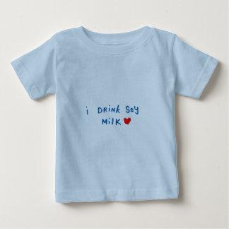 I drink soy milk infant t-shirt