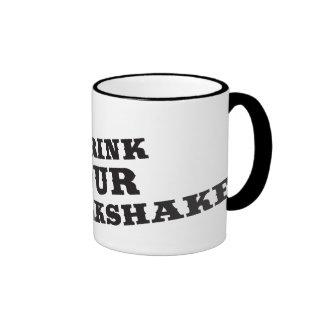 I drink your milkshake there will be blood ringer mug