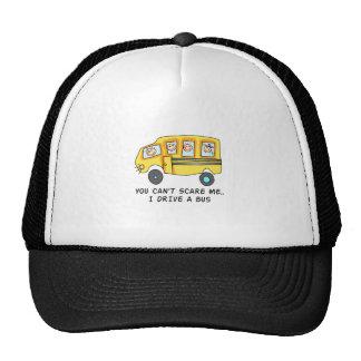 I DRIVE A BUS TRUCKER HAT
