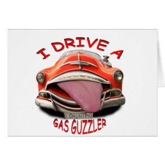 i drive a gas guzzler card