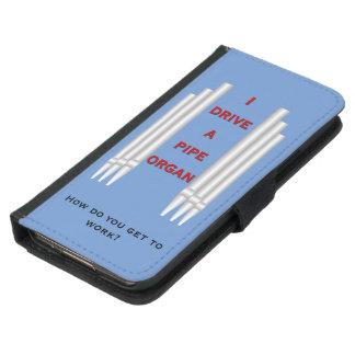I drive a pipe organ galaxy wallet blue