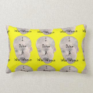 I Drive A War Wagon Lumbar Pillow