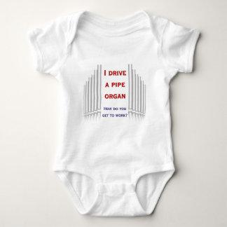 I drive an organ - apparel infant creeper