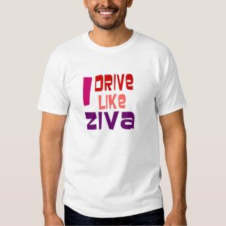 I drive like Ziva Tee Shirt