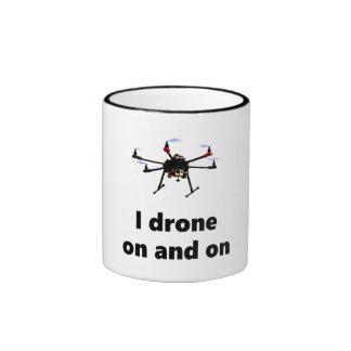 I drone on and on hexacopter mug