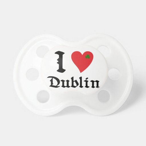I Dublin love Chupetes Para Bebés