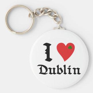I Dublin love Llaveros