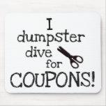 I dumpster dive mouse pad