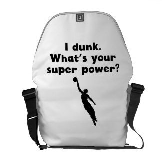 I Dunk Super Power Courier Bag