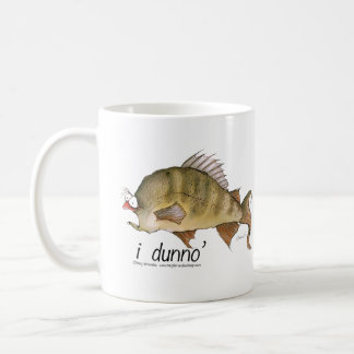 i dunno', tony fernandes coffee mug