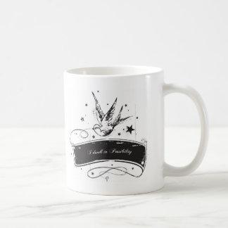 """I Dwell in Possibility"" Classic White Coffee Mug"