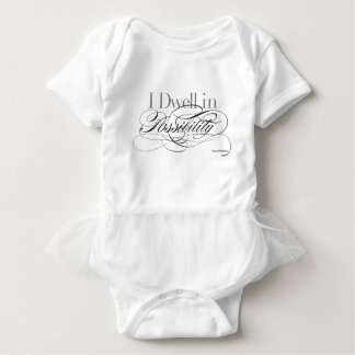 I Dwell in Possibility - Emily Dickinson Quote Baby Bodysuit