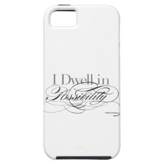 I Dwell in Possibility - Emily Dickinson Quote iPhone SE/5/5s Case