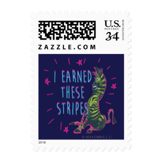 I Earned These Stripes Postage
