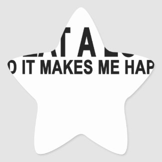 i eat a lot and it makes me happy tee shirts png stickers