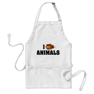 I Eat Animals Adult Apron