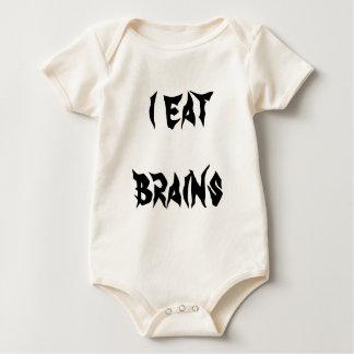 i eat brains baby bodysuits