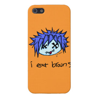 """""""i eat brains"""" Visual Kei Zombie Case For iPhone 5"""