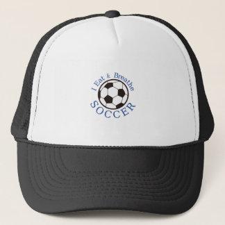 I Eat & Breathe Soccer Trucker Hat