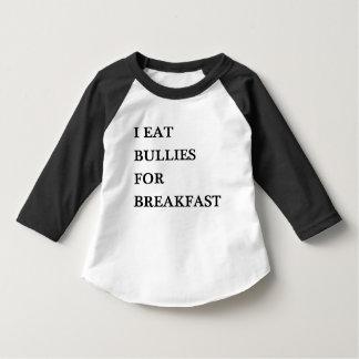 I EAT BULLIES FOR BREAKFAST FUNNY KIDS BABY HUMOR T-SHIRT