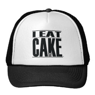 I EAT CAKE Trucker hat