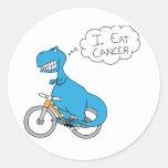 I eat cancer sticker