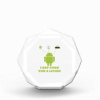 I Eat Code For A Living Software Developer Award