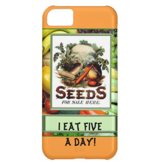 I eat five a day iPhone 5C cover