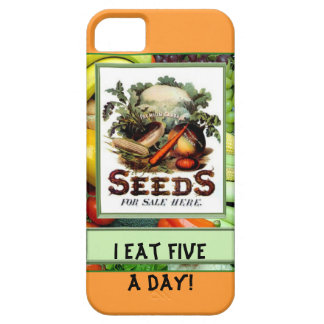 I eat five a day iPhone 5 covers