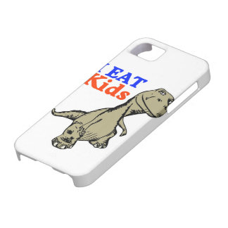 """I Eat Kids"" Funny Dinosaur iPhone 5 Case"