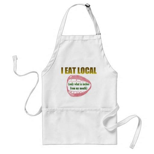 I Eat Local Apron