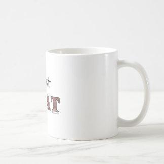I eat meat coffee mug