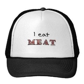 I eat meat trucker hats